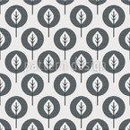Einfarbige Blätter Rapportiertes Design