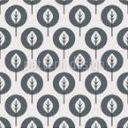 Monochrome Leafs Repeating Pattern