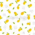 Bright Lemons Pattern Design