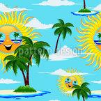 Sommersonne Designmuster