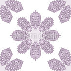 Kaleidoscopic Ornament Repeating Pattern