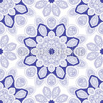 Kaleidoscopic Mandalas Seamless Vector Pattern Design