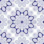 Kaleidoskopische Mandalas Nahtloses Vektormuster