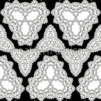 Kaleidoscopic Outline Forms Pattern Design