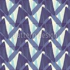 Schuppen Ikat Muster Design