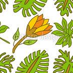 Exotische Blumenentdeckungen Musterdesign