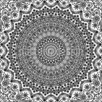 Mandala Der Punkte Nahtloses Vektormuster