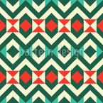 Rauten und Dreiecke Vektor Ornament