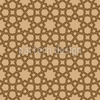Star Lattice Seamless Pattern