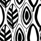 Naive Blätter Vektor Design