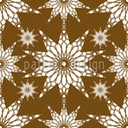Geometrisch Islamisch Rapportiertes Design