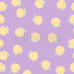 Roses For Me Seamless Vector Pattern Design