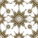 Geometric Islamic Stars Seamless Vector Pattern Design