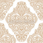 Linear Damask Seamless Vector Pattern Design