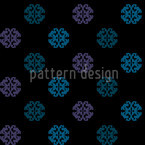 Perhaps Black Seamless Pattern