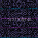 Tiziano Violet Seamless Vector Pattern Design