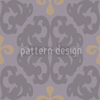 Paparock Brown Seamless Vector Pattern Design