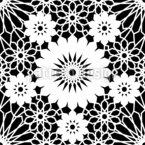 Geometrische islamische Mandalas Nahtloses Muster