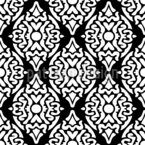 Contrast Embellishment Seamless Vector Pattern Design