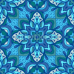 Arabesque Mandala Rapportiertes Design
