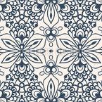 Reflexão Caleidoscópica Design de padrão vetorial sem costura
