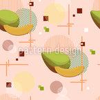 Mango Memphis Nahtloses Vektormuster