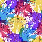 塗料のスプラッシュ シームレスなベクトルパターン設計