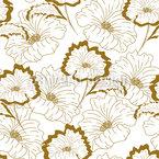 Mohnblumen In Der Blüte Musterdesign