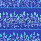 Blätter im Garten Vektor Muster