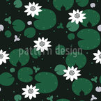 Waterlilies Pattern Design