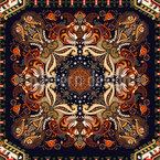 Indisches Dekoratives Paisley Designmuster