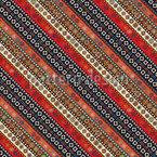 Afrikanische Winkelleisten Musterdesign