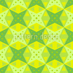 Abstrakte Zitronenscheiben Muster Design