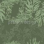 Camuflagem de coníferas Design de padrão vetorial sem costura