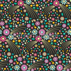 Joy Of Flowers Pattern Design