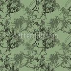 Abstract Camouflage Seamless Vector Pattern Design