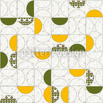 Cabinet Floral Seamless Vector Pattern Design