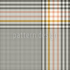 Shepherds Check Seamless Vector Pattern Design