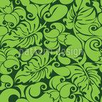 Grafisches Grünzeug Musterdesign