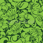 Graphical Greenery Pattern Design