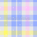 Light Tartan Check Seamless Vector Pattern Design