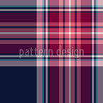 Scottish Tartan Check Seamless Vector Pattern Design
