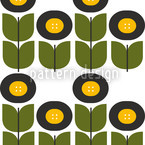 Retro Tull Seamless Vector Pattern Design