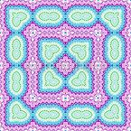 Piastrella ornamentale disegni vettoriali senza cuciture