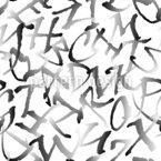 Wähle Einen Buchstaben Nahtloses Vektormuster