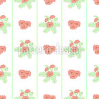 Country Style Poppies Repeating Pattern