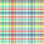 Leichtes Tartan-Picknick Vektor Muster
