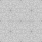 Filigane Blossom Seamless Vector Pattern Design