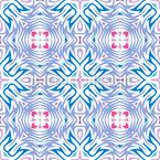 Quadratische Fliese Rapportmuster