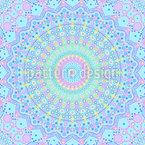 Punkt Mandala Muster Design